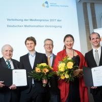 Deutsche Mathematiker-Vereinigung lobt dieses Jahr wieder zwei Medienpreise aus