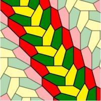 Neue pentagonale Kachelung