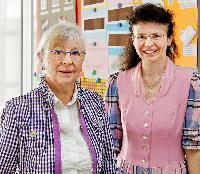 Ingrid Weigand und Renate Motzer