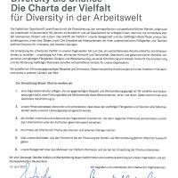 DMV unterzeichnet Charta der Vielfalt in der Arbeitswelt