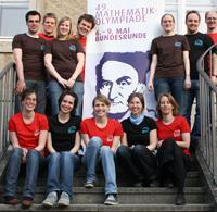 Organisations-Team der Bundesrunde der Mathe-Olympiade