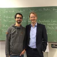 Onnen Siems und Carsten Seyfarth
