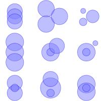 Mal zwei oder drei Kreise