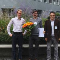 Florian Frick erhält Richard-Rado-Preis