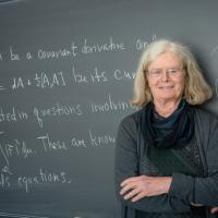 Karen Uhlenbeck mit Abelpreis ausgezeichnet.