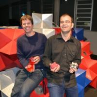 Dominik Essing und Davy Champion