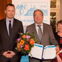 Der Archimedes-Preis 2018 des MNU geht an Hans-Jürgen Elschenbroich