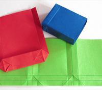 Origami-Technik hilft beim Tüten Falten
