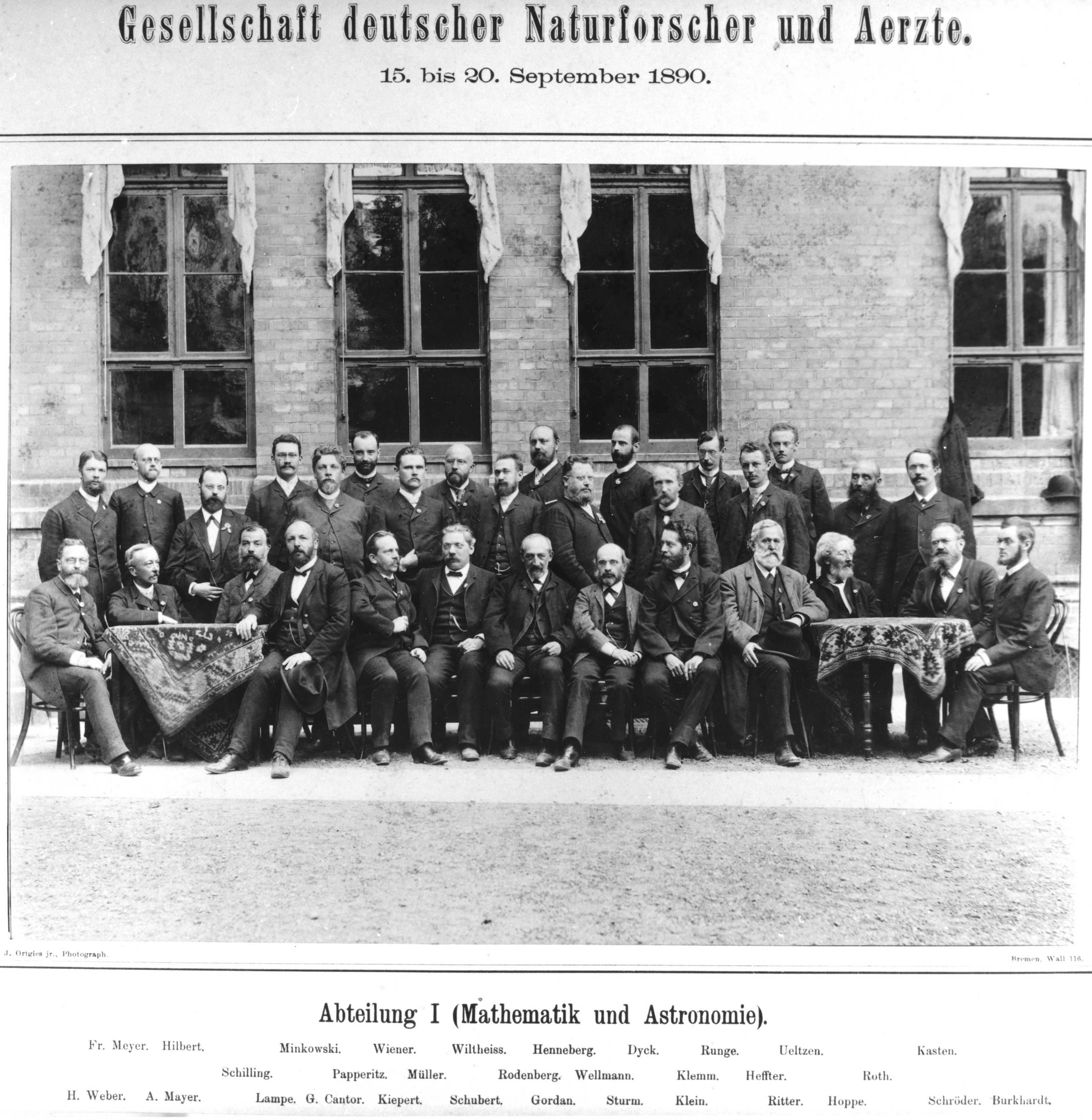 Die Gründer der DMV Foto: J.Ortgies jr