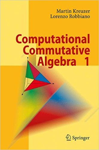 M. computational commutative algebra 1