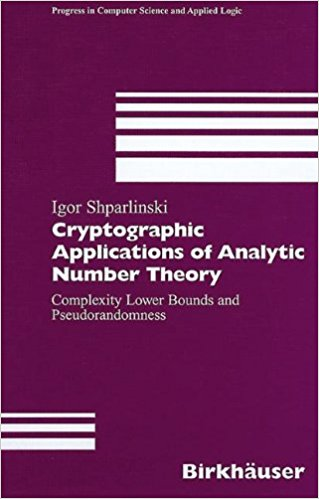 cryptography applications of analytic number theory